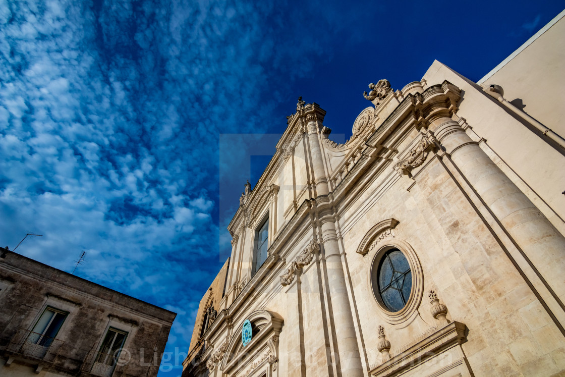 """Architecture. Puglia. Southern Italy"" stock image"