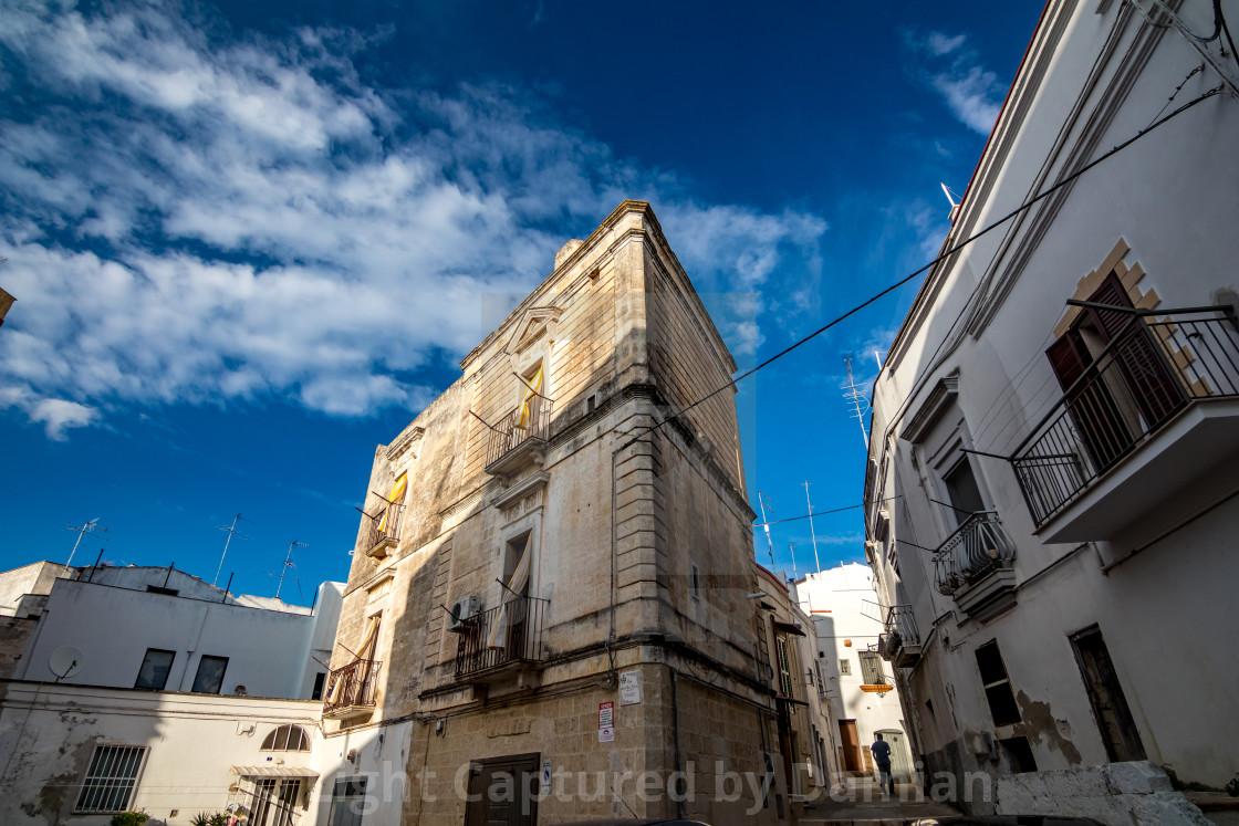 """Architecture. Puglia. Southern Italy"" stock image"