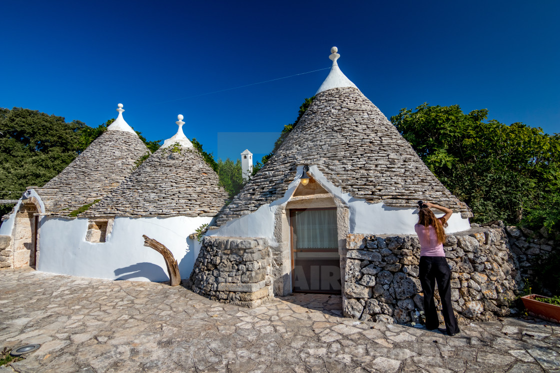 """Photographing old architecture in Puglia, Italy"" stock image"