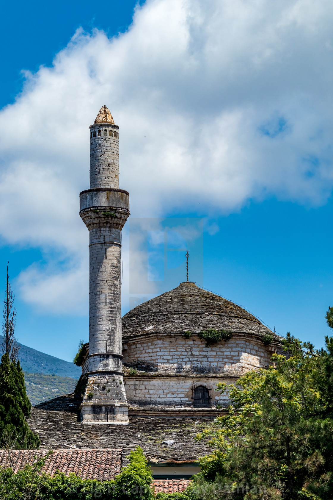 """Aslan Pasha Mosque in Ioannina, Greece"" stock image"