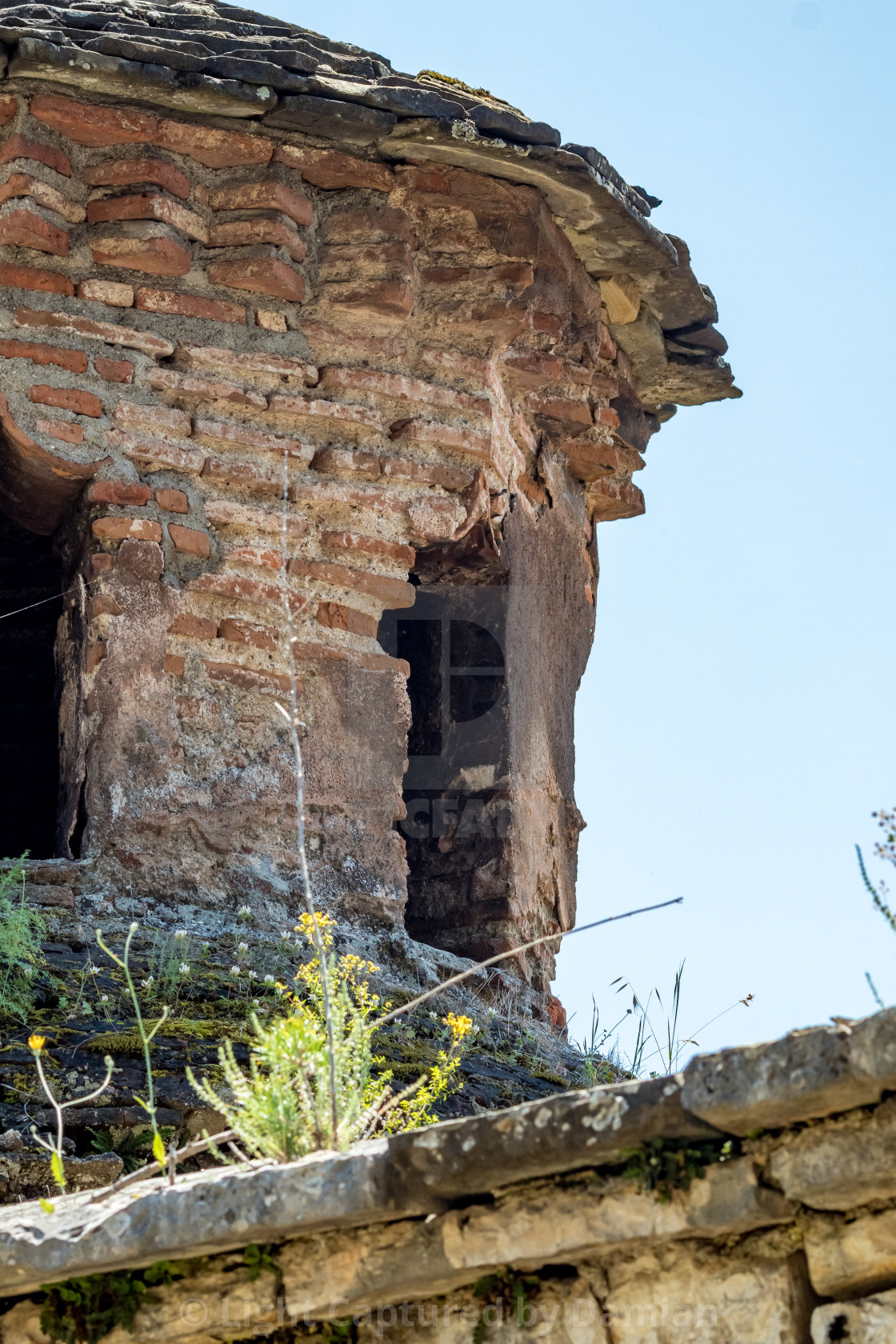 """Detail, Aslan Pasha Mosque in Ioannina, Greece"" stock image"