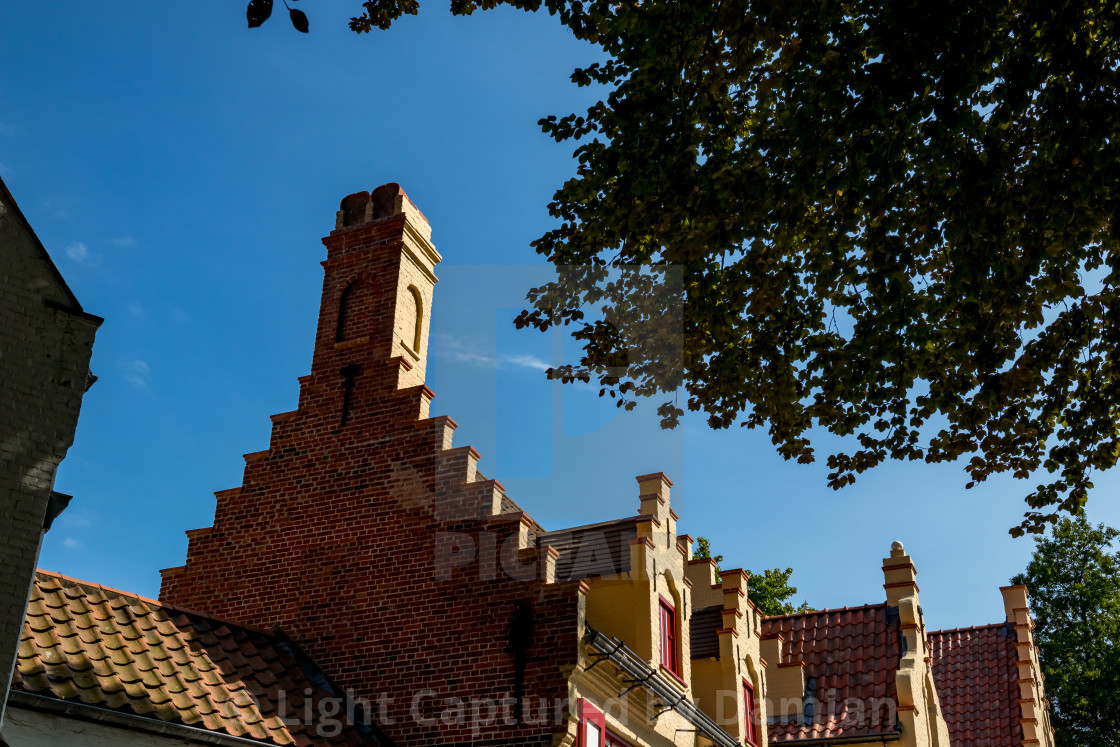 """""""Calm scene with light roof in warm summer day"""" stock image"""