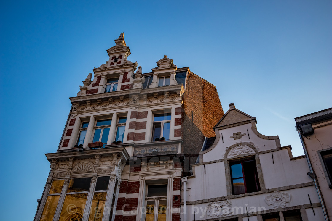 """""""Architecture at Aalst, Flanders, Belgium"""" stock image"""