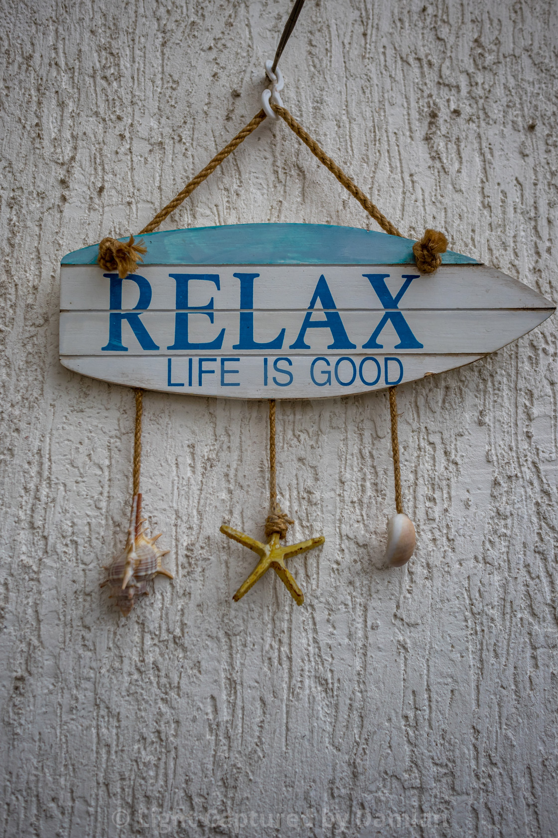 """Relax, life is good"" stock image"