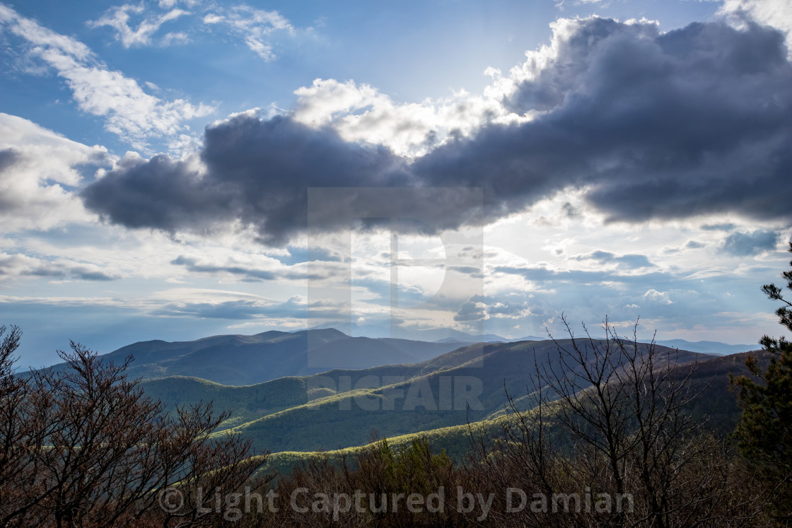 """Dramatic view from Shipka monument, Bulgaria"" stock image"