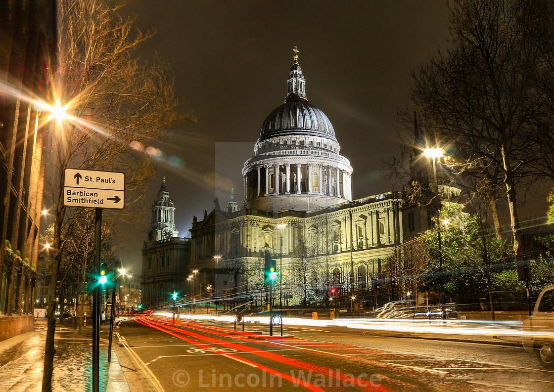 """St Pauls Cathedral - London UK"" stock image"