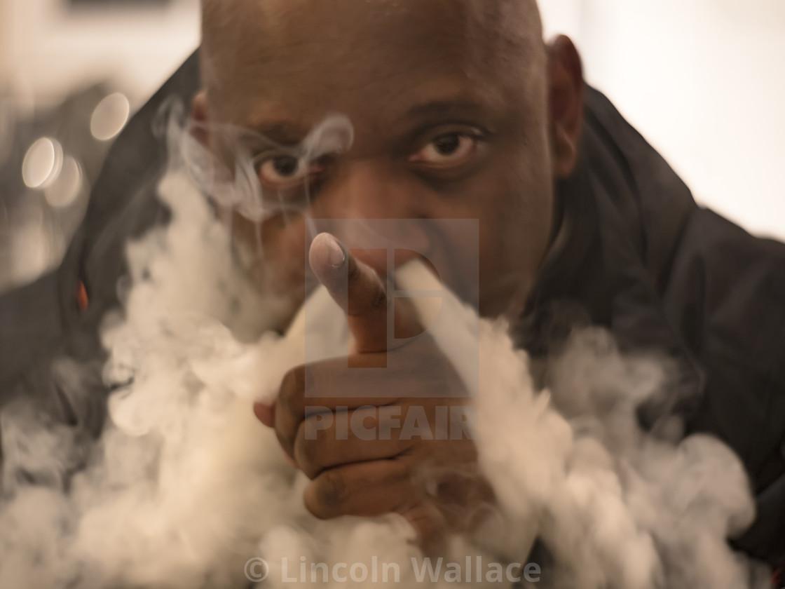 """""""Vape not Smoke"""" stock image"""