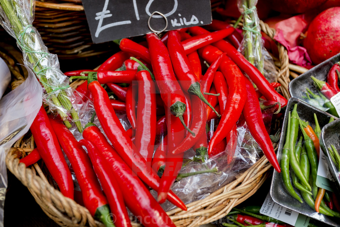 """""""Red Hot Chilli Peppers"""" stock image"""