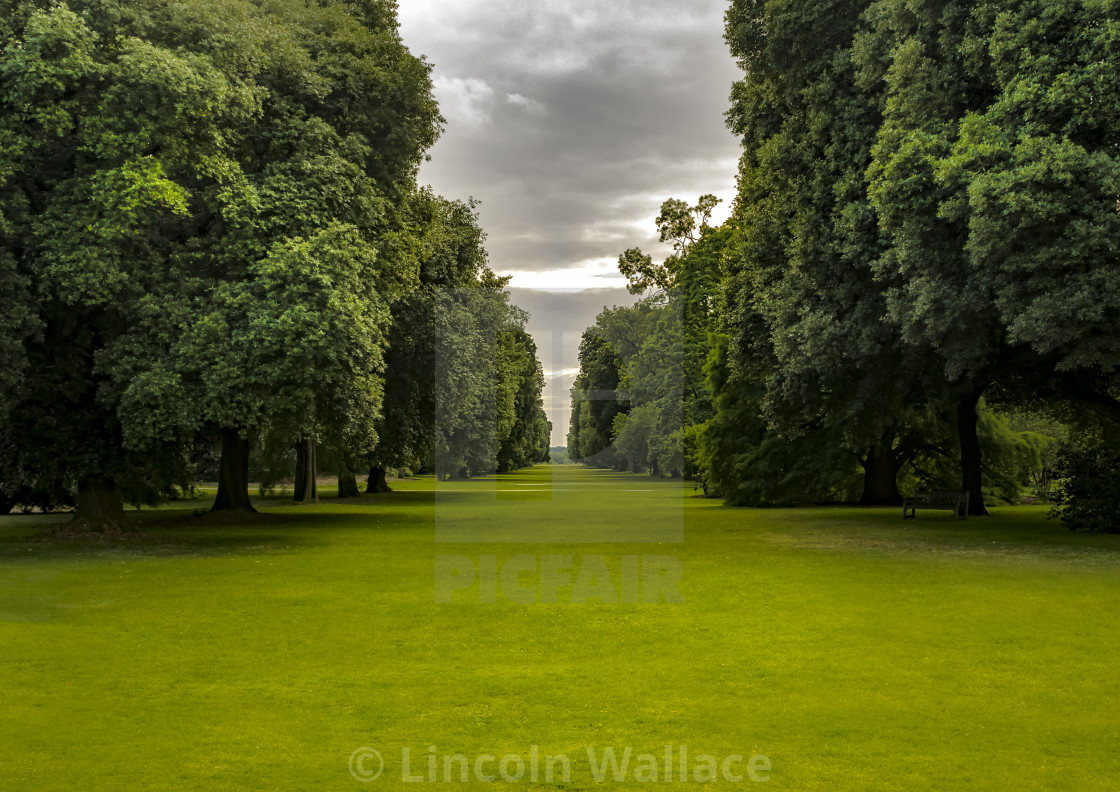 """Summertime at Kew"" stock image"
