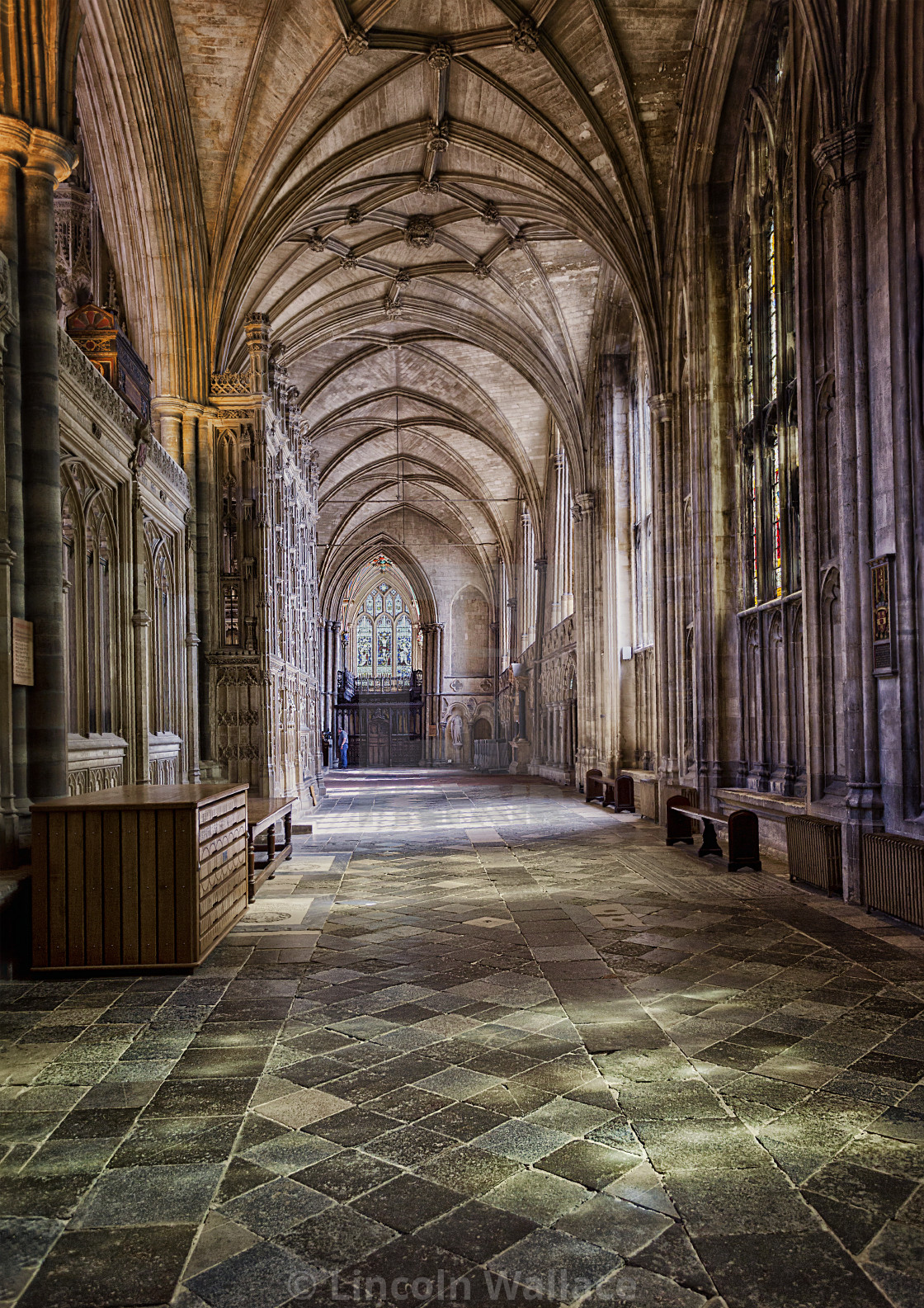 """Winchester Cathedral VI"" stock image"