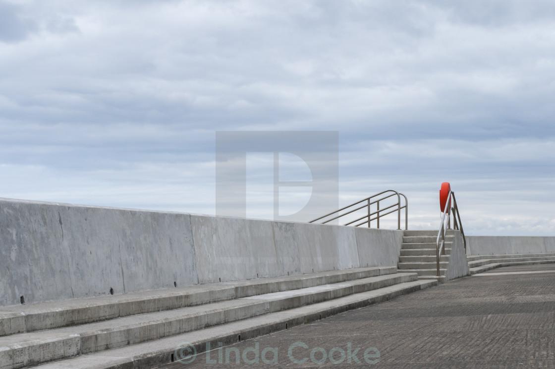 """Sea defences"" stock image"
