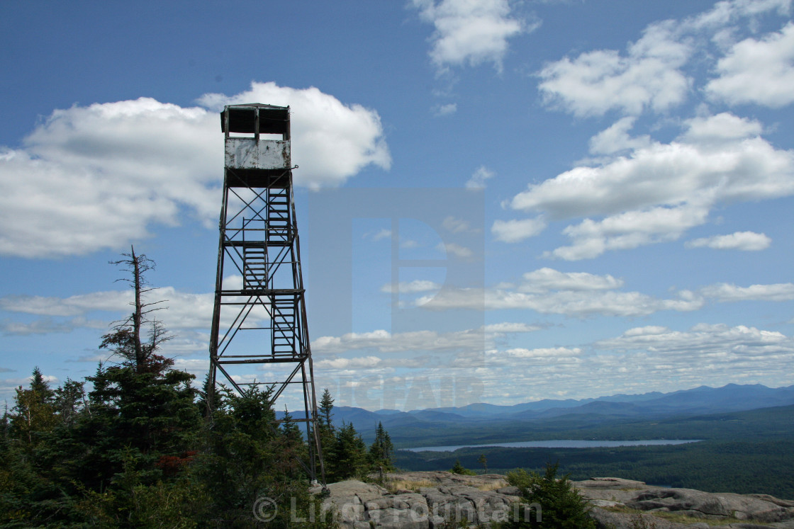 St  Regis Fire Tower New York - License, download or print