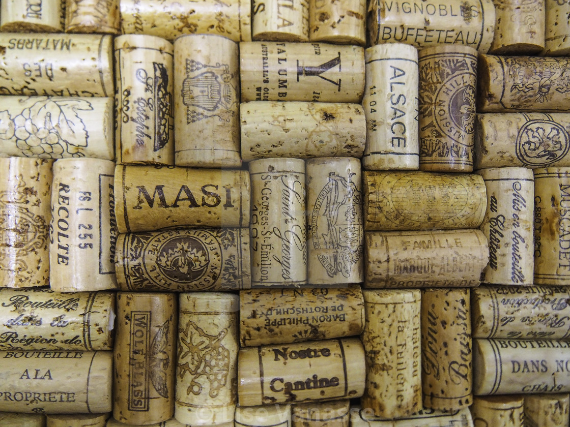 """Cork corks for wine."" stock image"