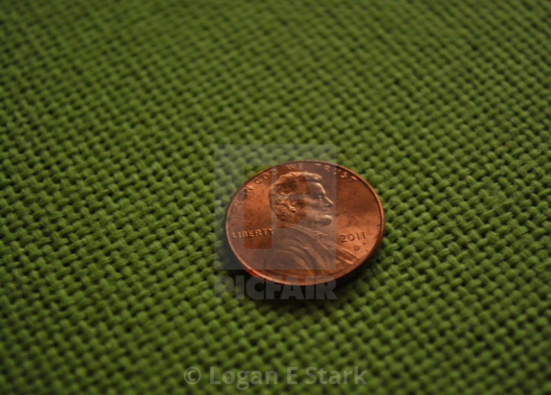 """""""Lucky Penny"""" stock image"""