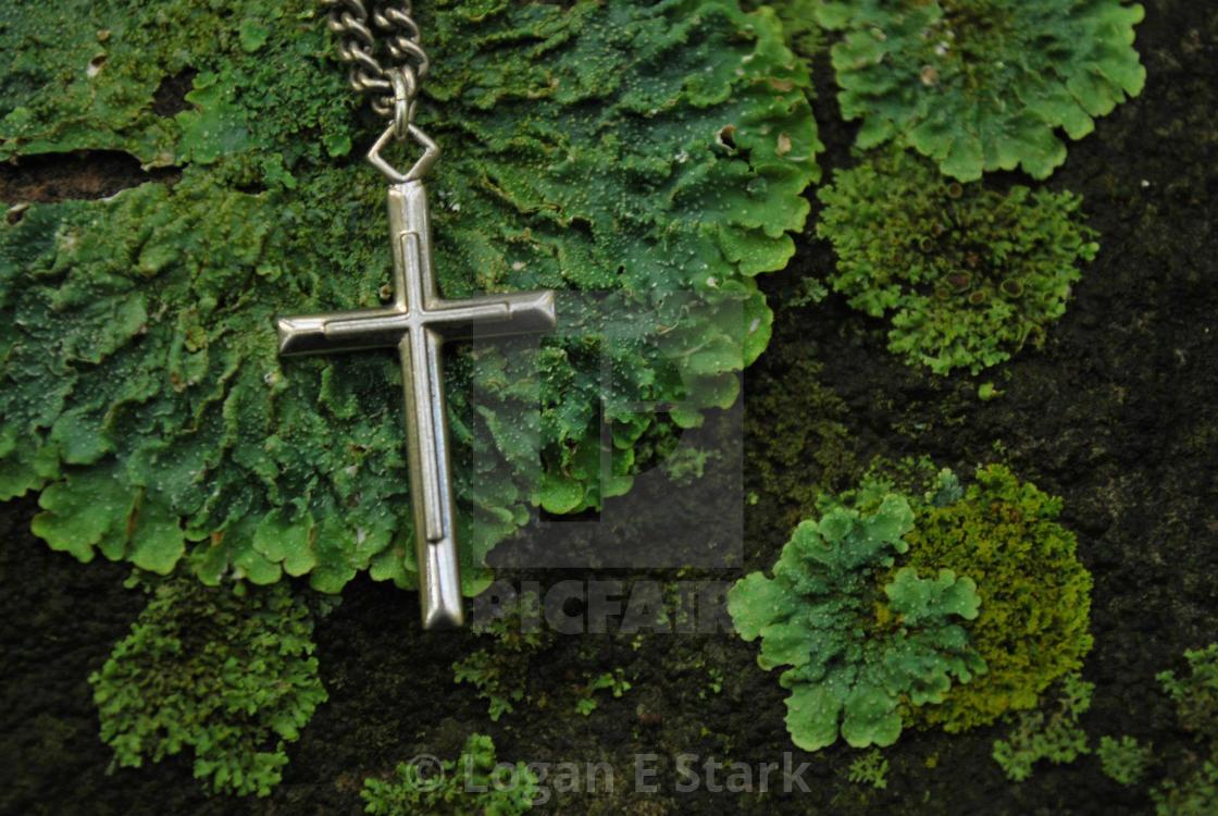 """Nature Cross"" stock image"