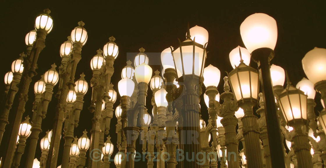 """Urban Light"" stock image"