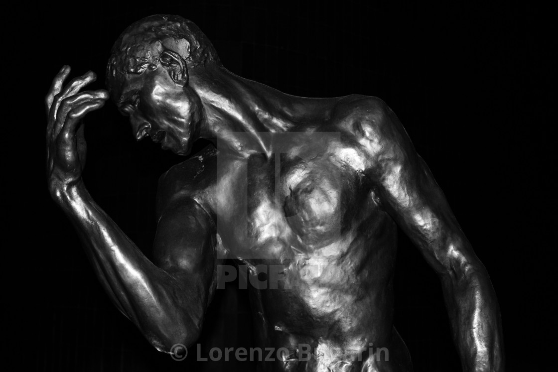 """""""Statue by Rodin"""" stock image"""