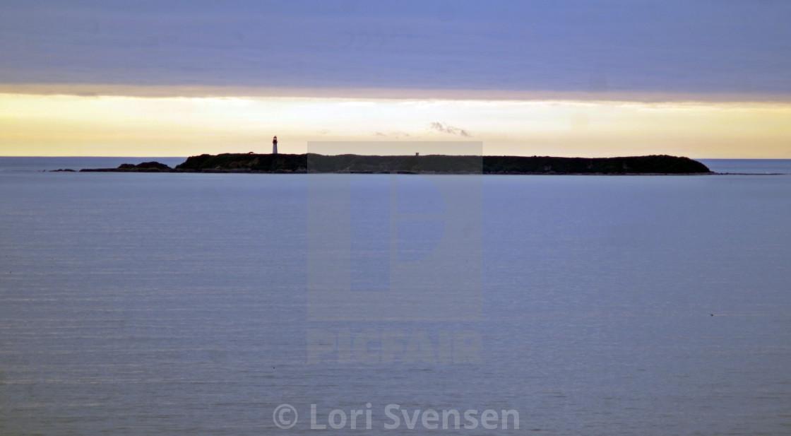 """""""Destruction Island Evening - Kalaloch 4 Washington"""" stock image"""
