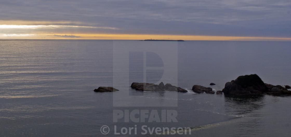 """Kalaloch 4 Beach Sunset Washington"" stock image"