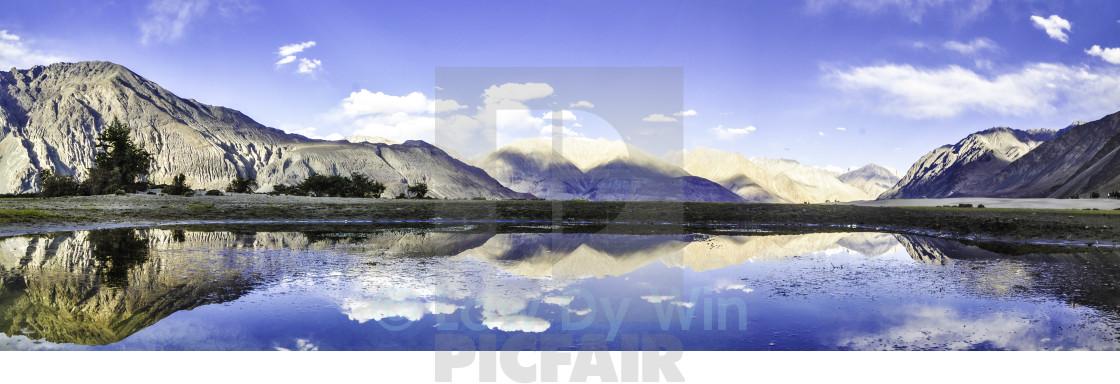 """Nubra Valley"" stock image"