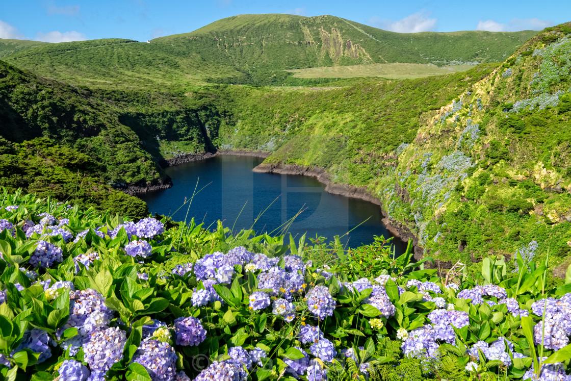 """Lagoa Comprida - Azores Islands"" stock image"