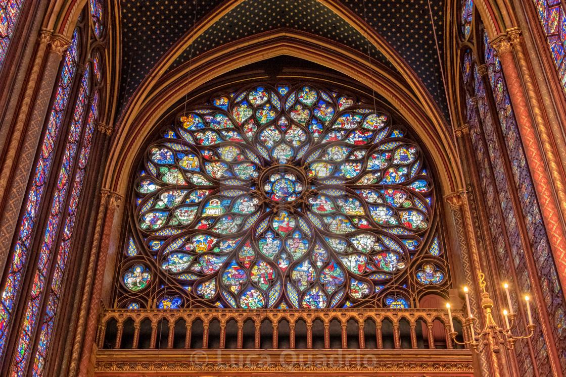 """Sainte-Chapelle"" stock image"