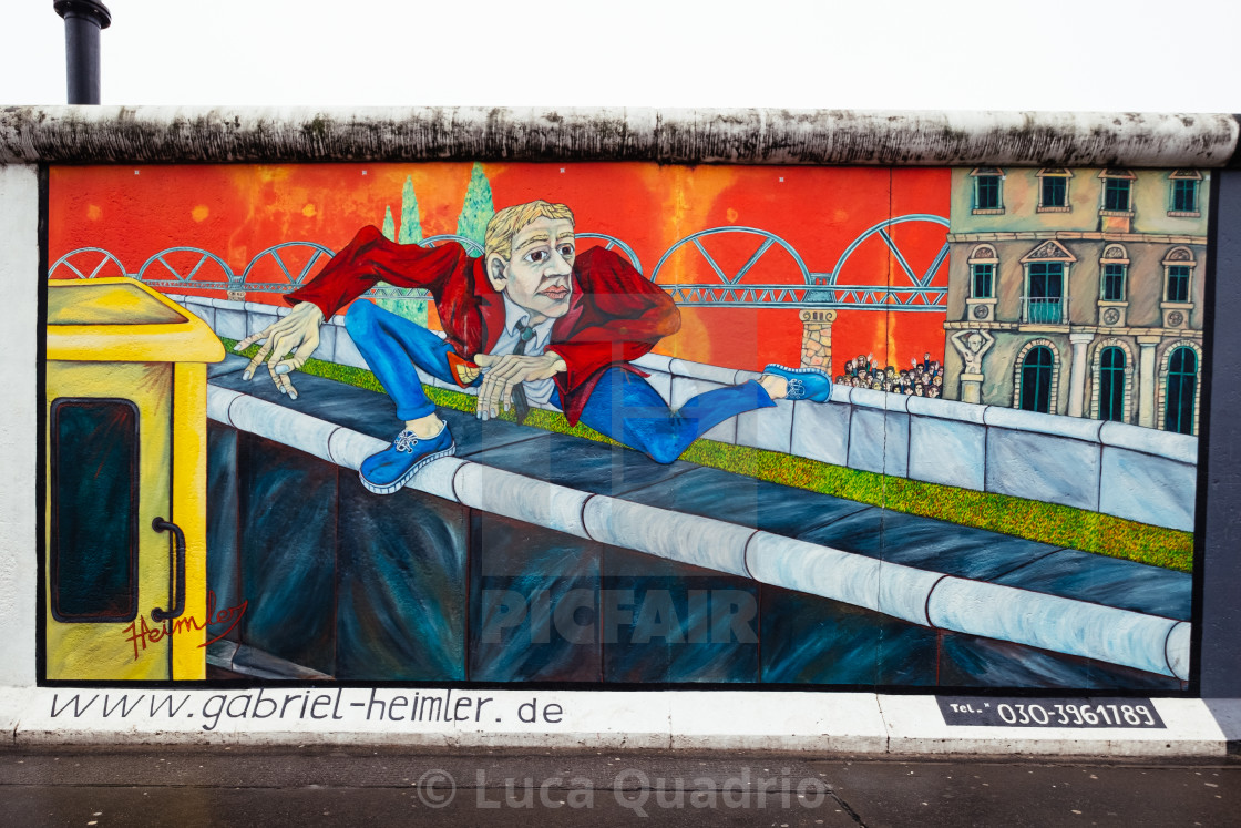 """""""East Side Gallery"""" stock image"""