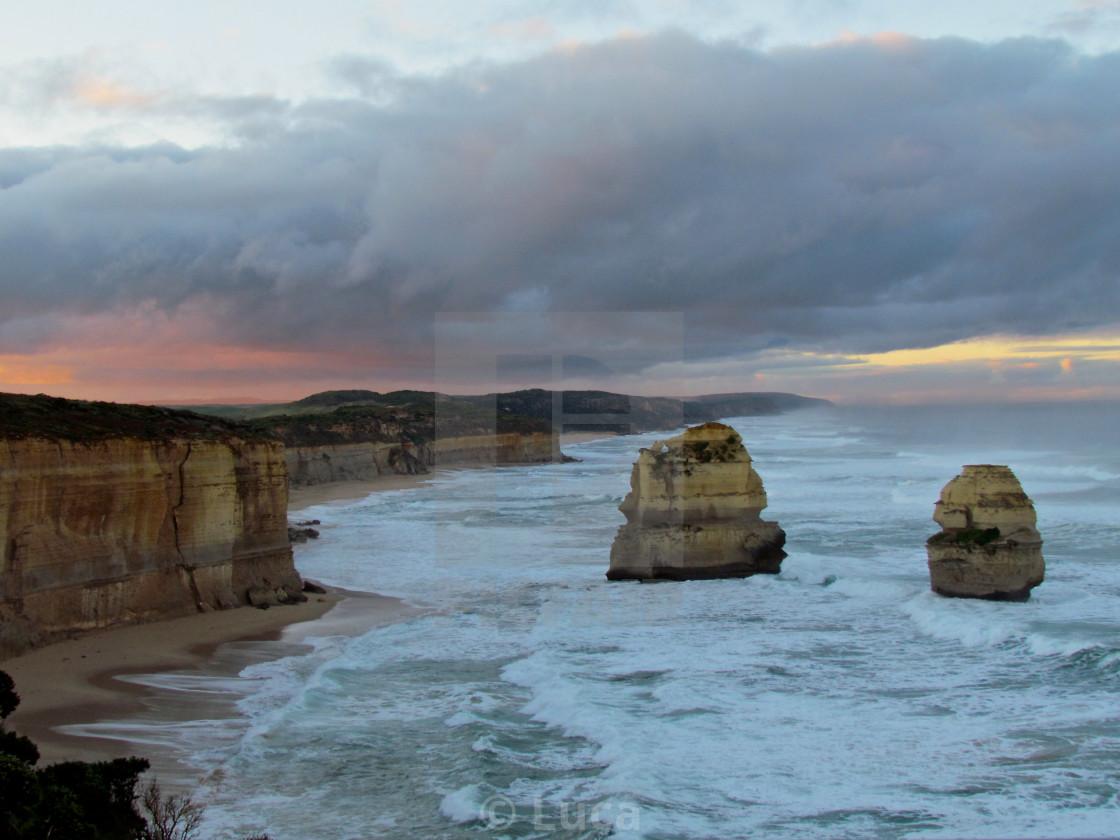 """""""Australia Twelve apostoles"""" stock image"""