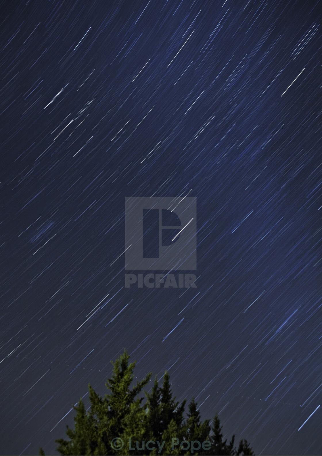"""""""Arizona Night Sky"""" stock image"""