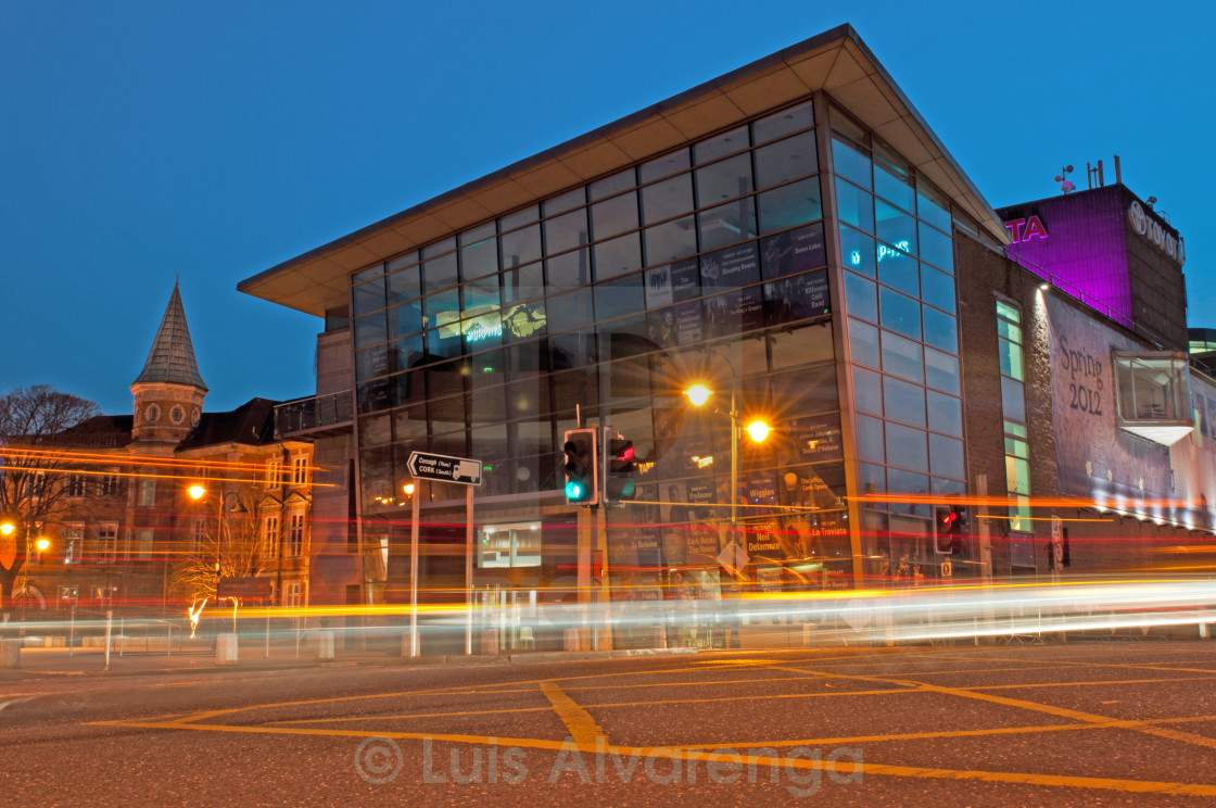 """Cork Opera House"" stock image"