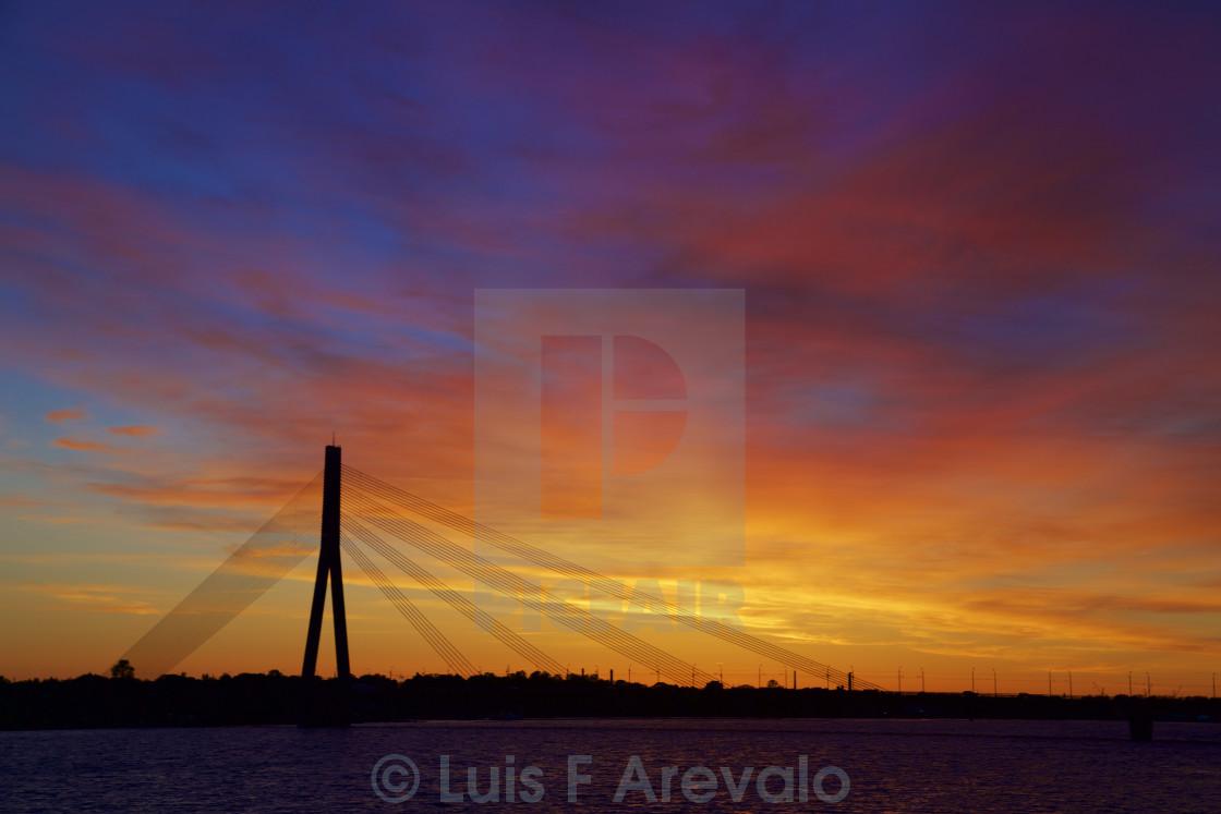 Midnight Sun Sunset