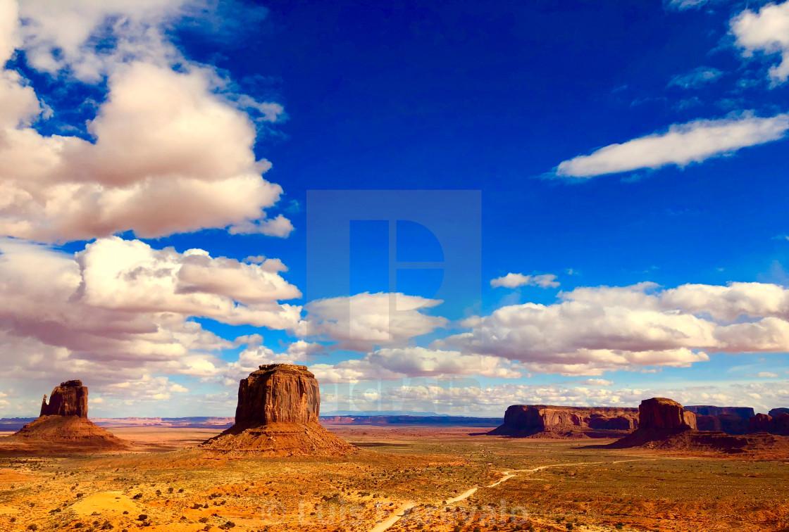 """Navajo's Lands"" stock image"