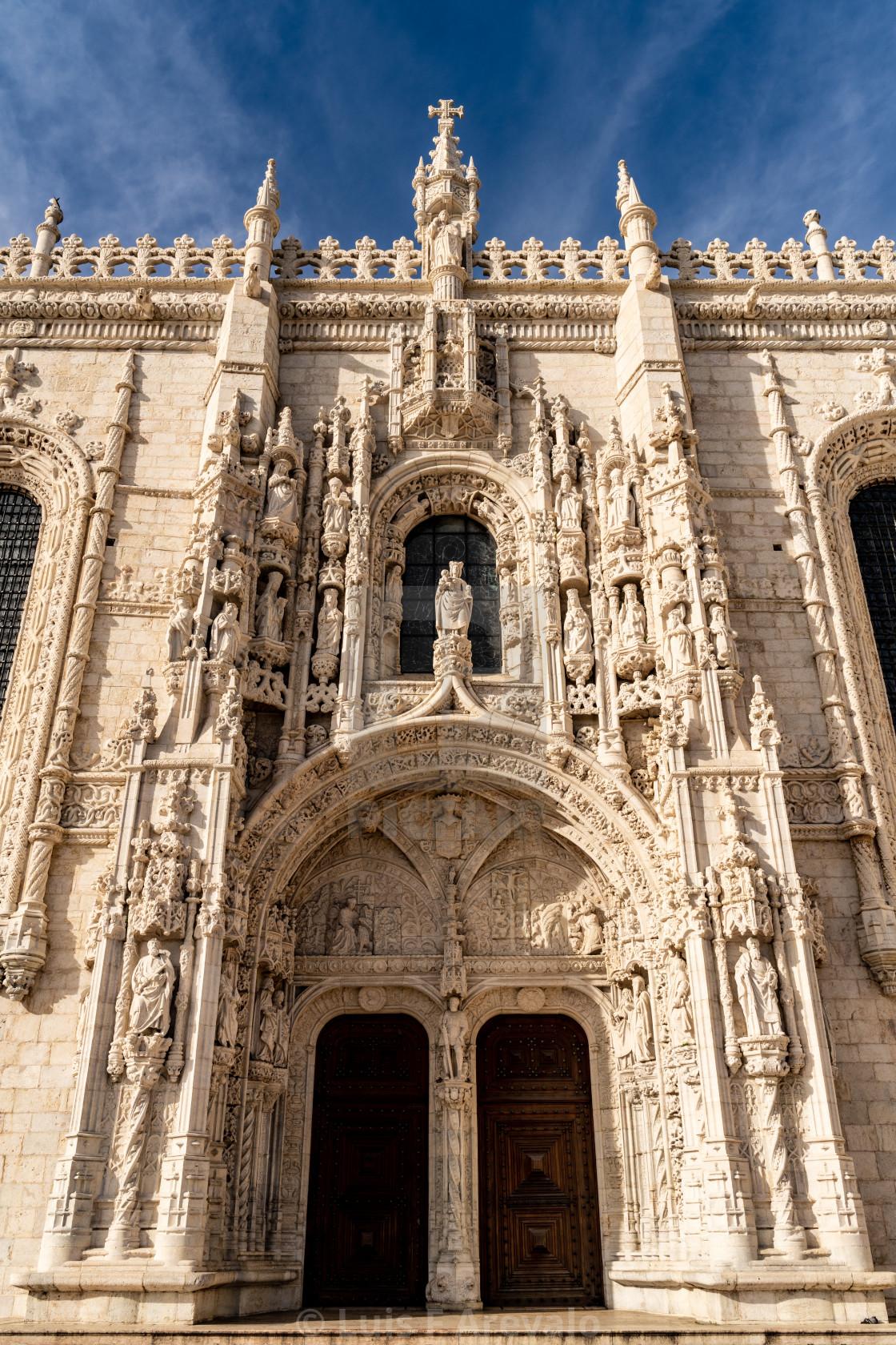 """""""Mosteiro do Jeronimos"""" stock image"""