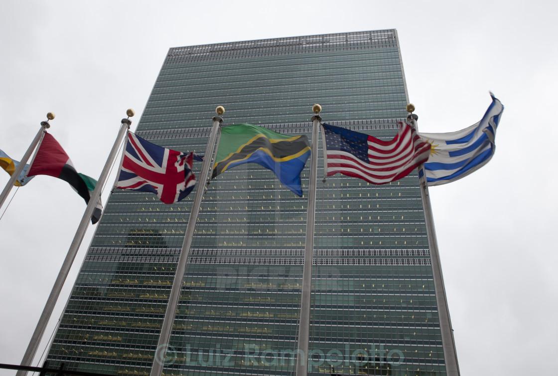 """United Nations Secretariat"" stock image"