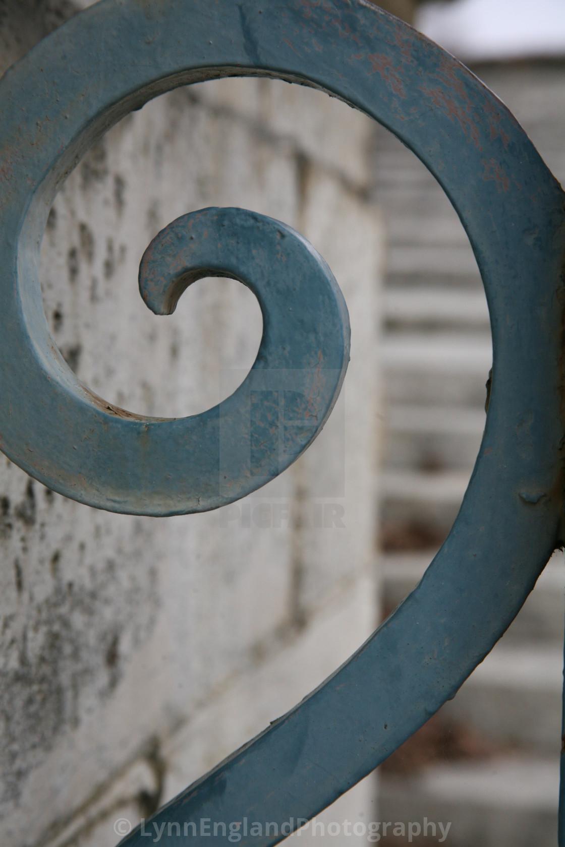 """Versailles Gate detail"" stock image"