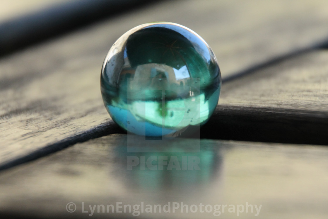 """""""Studies in Glass ...Marble"""" stock image"""