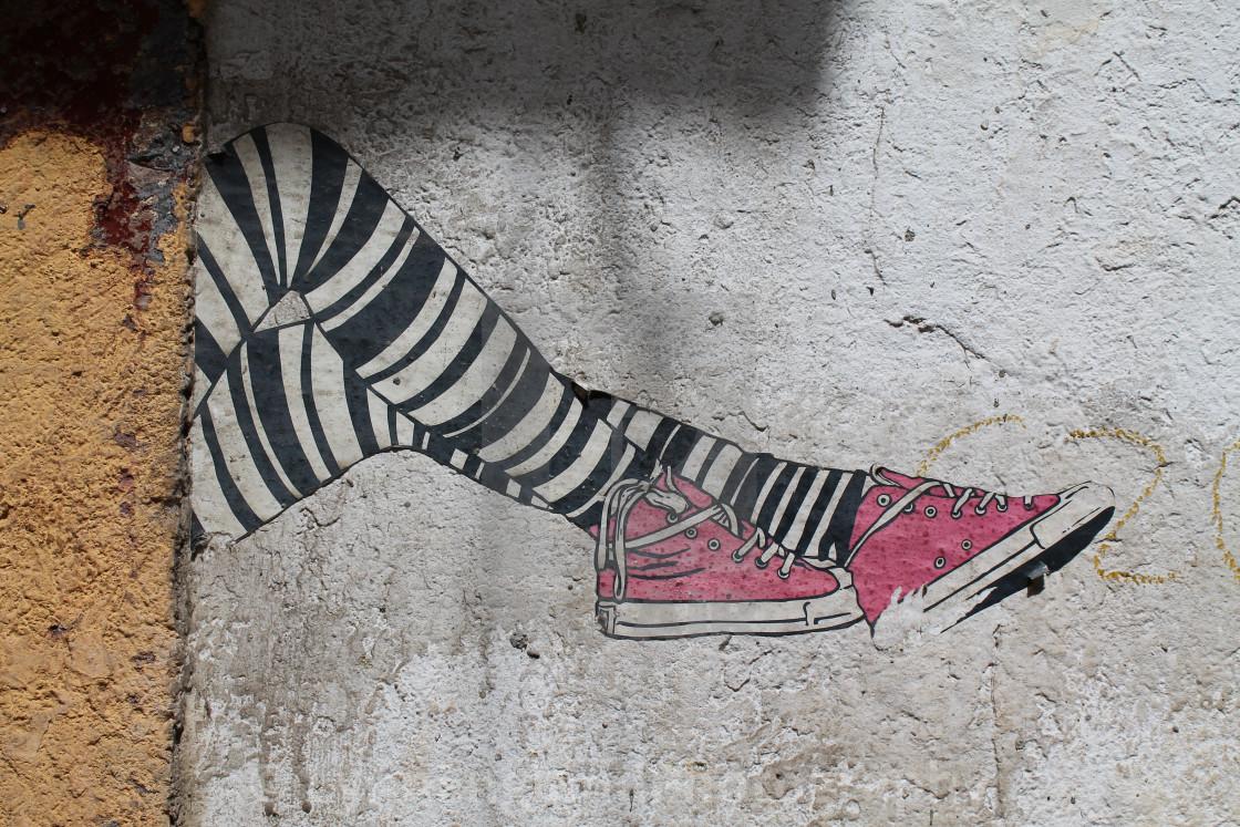 """""""Graffitti"""" stock image"""