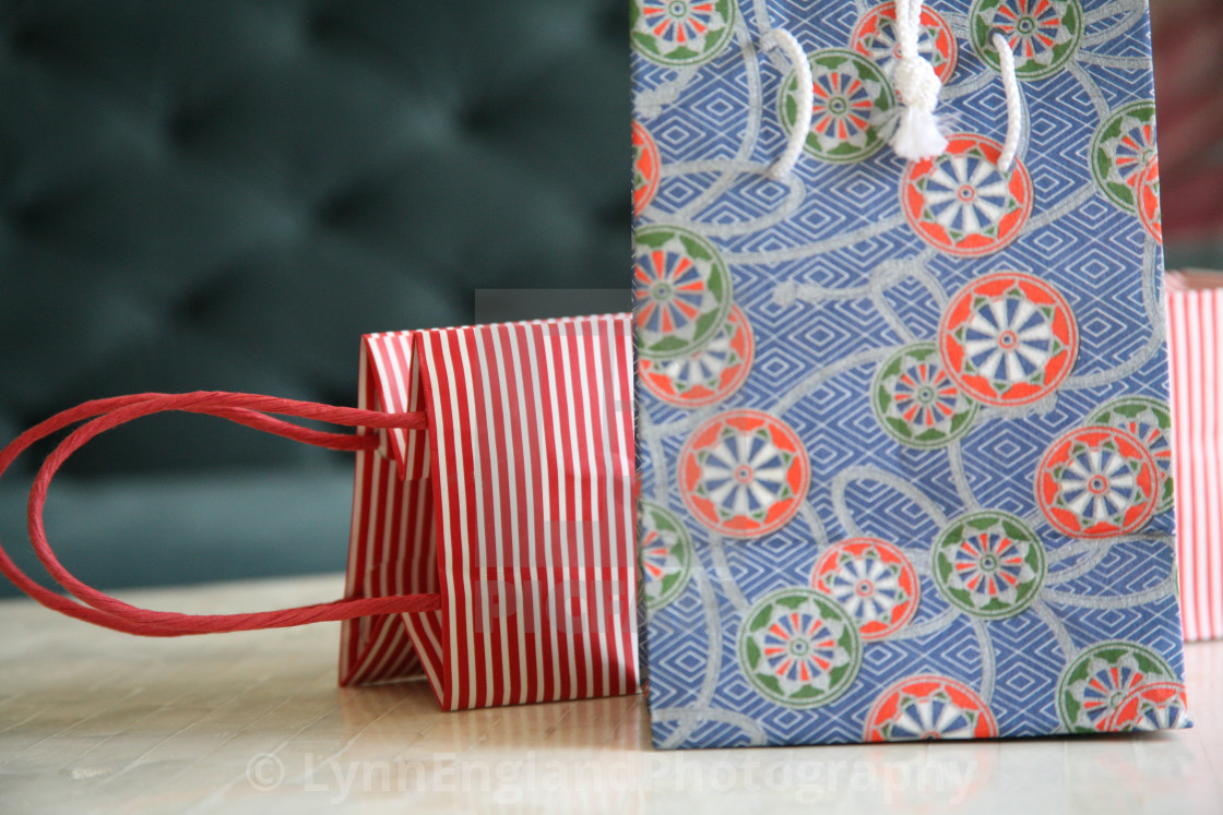 """Gift bags"" stock image"