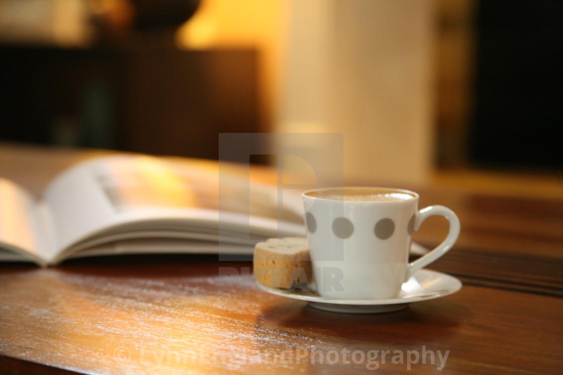 """""""Coffee break ...."""" stock image"""