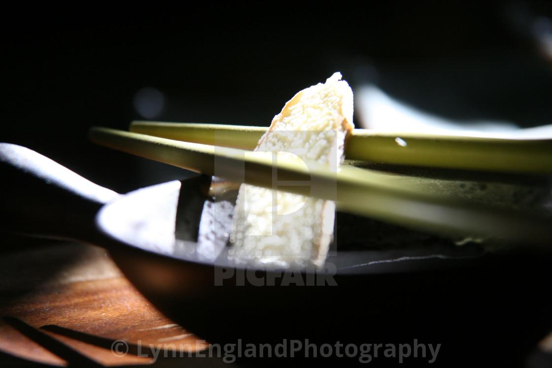 """Chopsticks and ginger"" stock image"