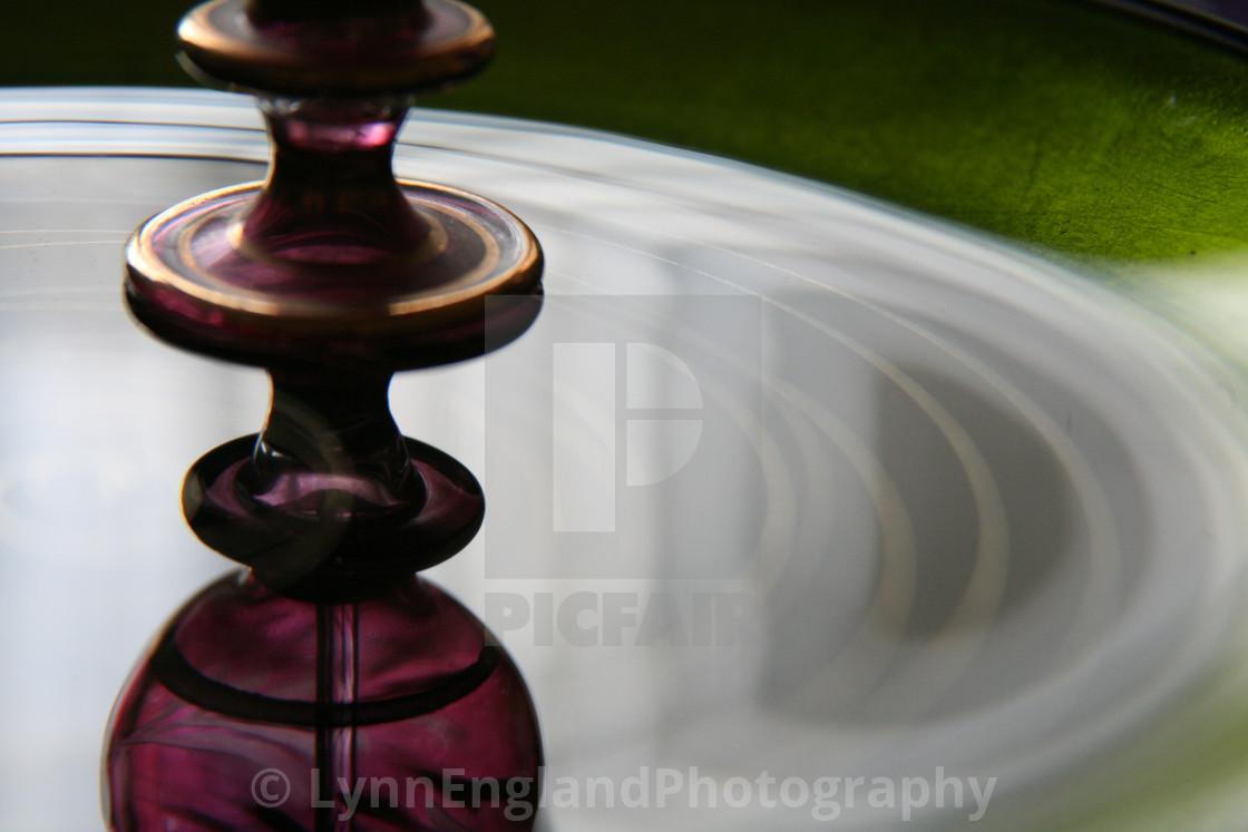 """Studies in glass ...exotic"" stock image"