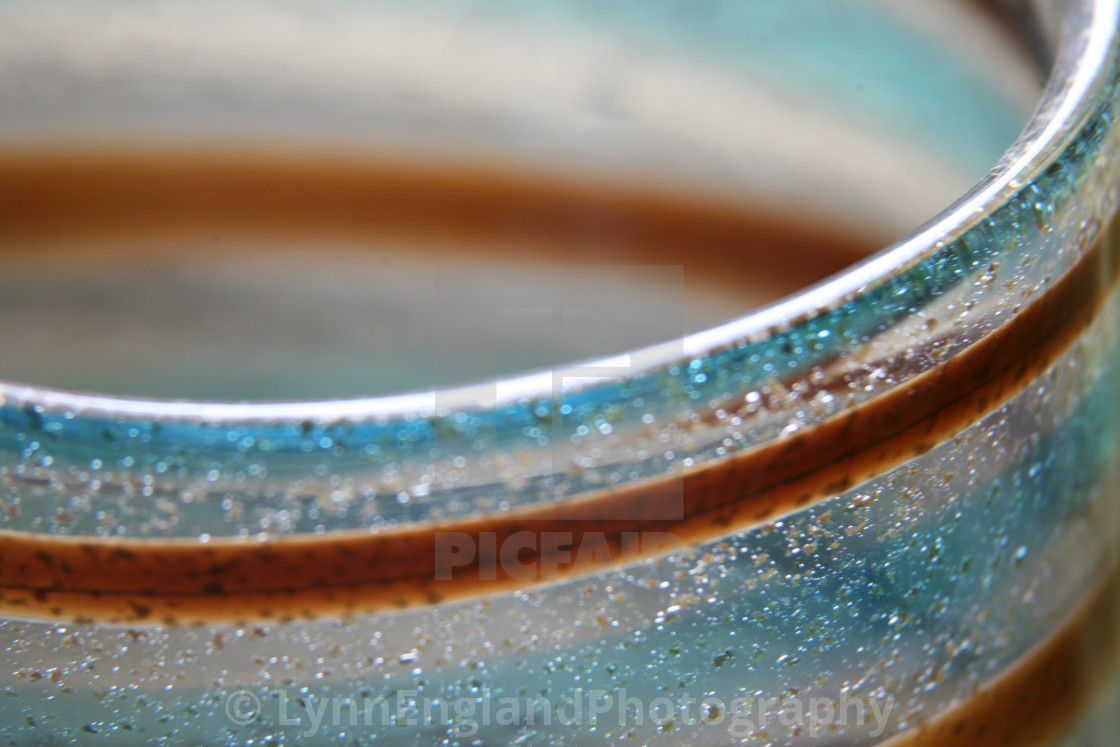"""""""Studies in glass ...abstract"""" stock image"""