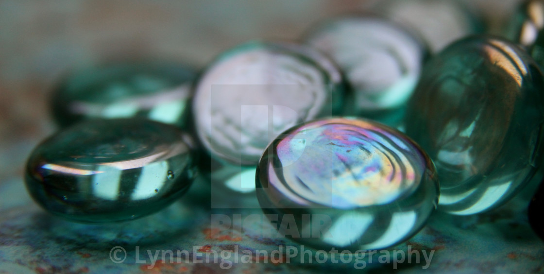 """""""Studies in glass ....playing with light"""" stock image"""