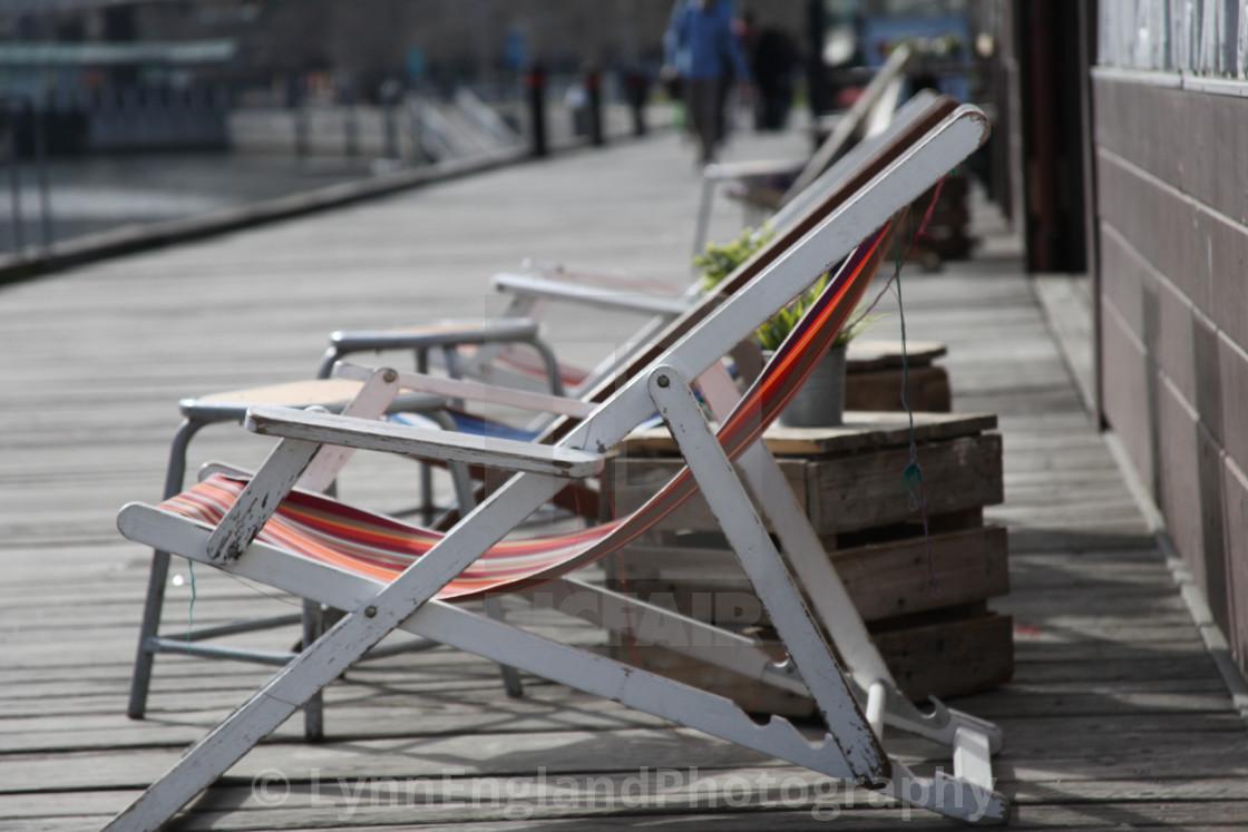 """Melbourne South Wharf living"" stock image"