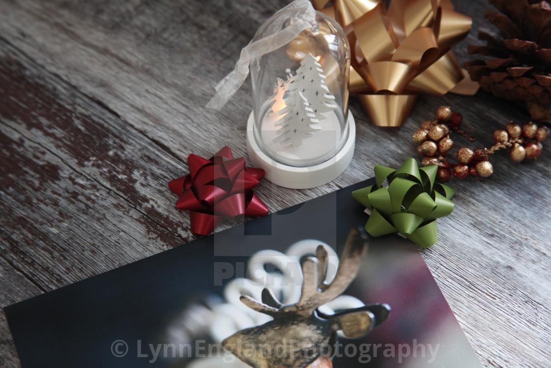 """Christmas preparations"" stock image"