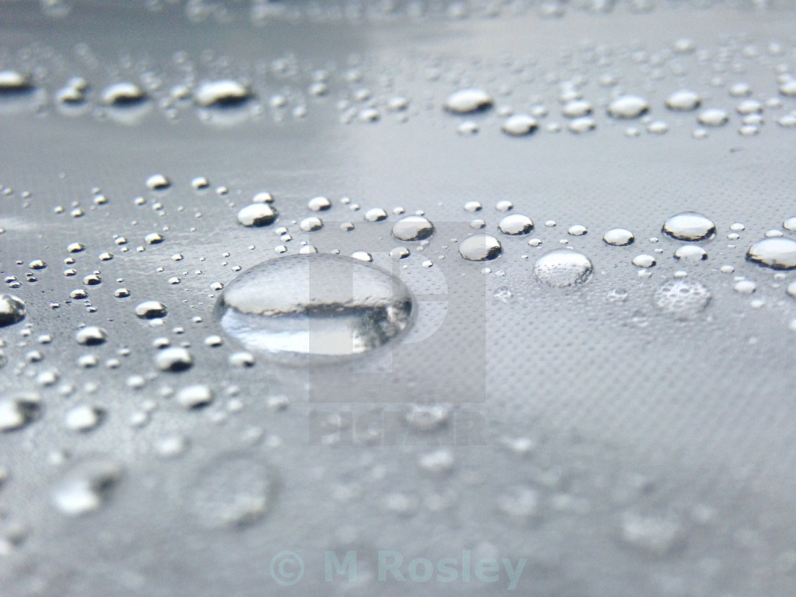 """Water droplets"" stock image"