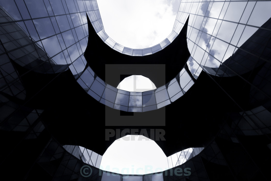 """Batman Building"" stock image"