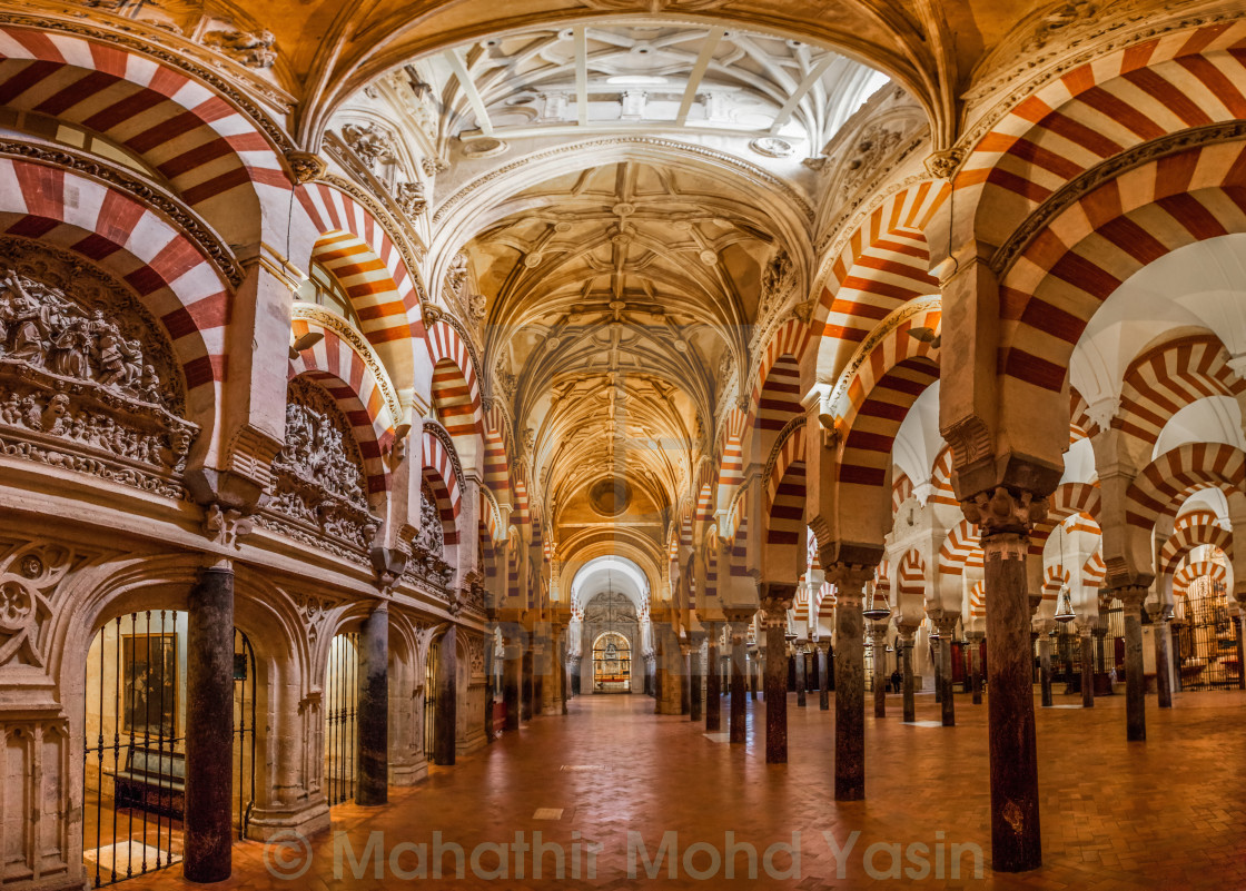 """Great Mosque-Cathedral of Cordoba, Spain"" stock image"