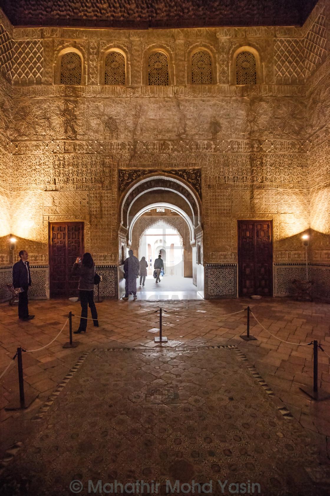 Alhambra Palace, Granada, Spain - License, download or print