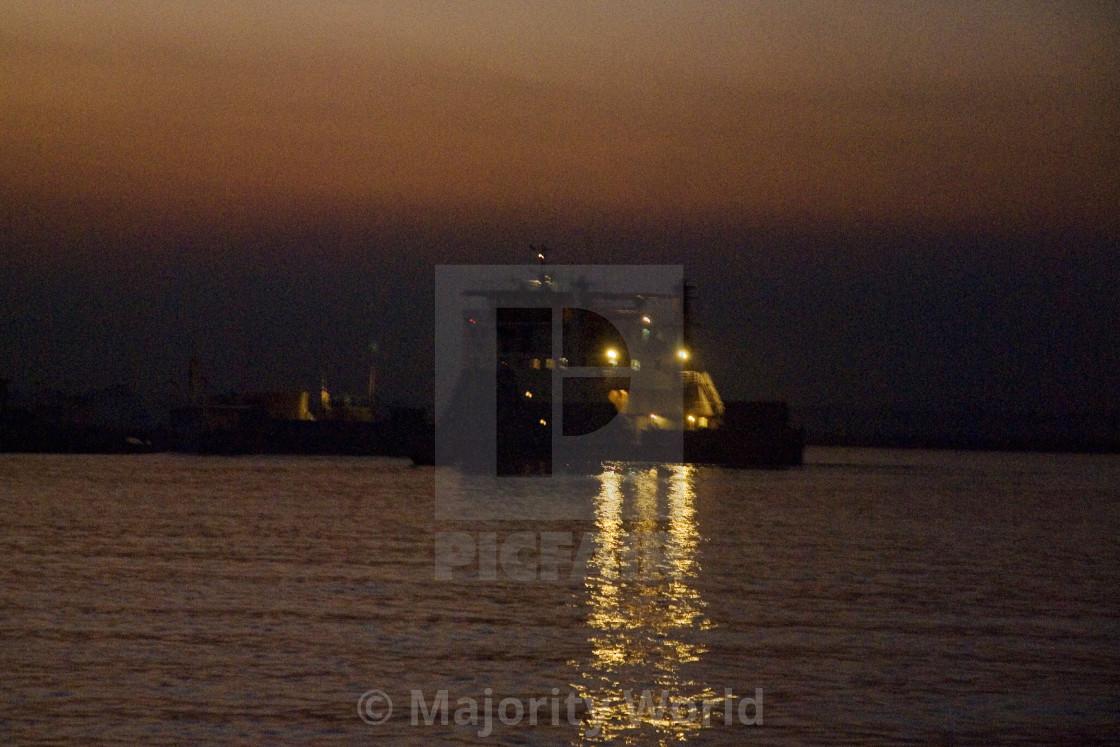 """Padma River, Bangladesh"" stock image"